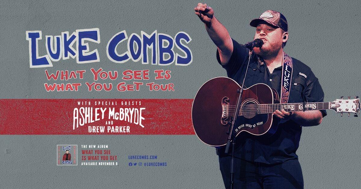 luke combs concerts 2020